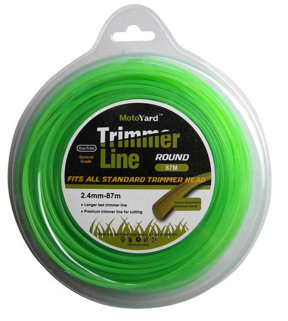 BAX TRIMMER LINE ROUND  2.4mm - 87m (1304-24087)
