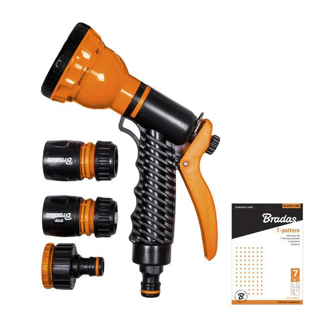 BRADAS 7-PATTERN SPRAY GUN (ECO-4440SET)