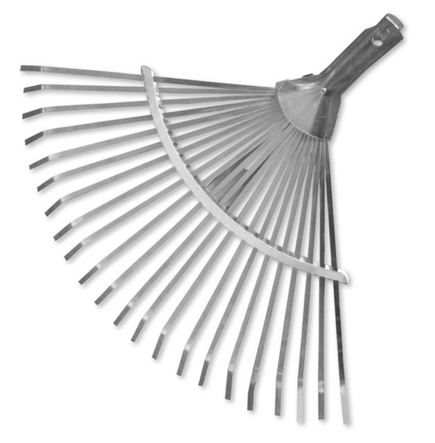 BRADAS METAL LEAF RAKE ADJUSTABLE (KT-W008A)