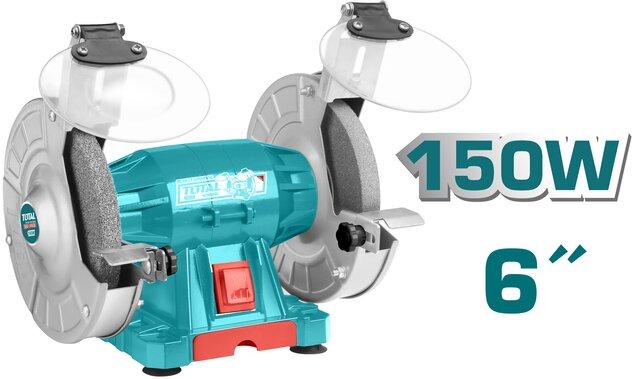 TOTAL BENCH GRINDER 150W (TBG15015)