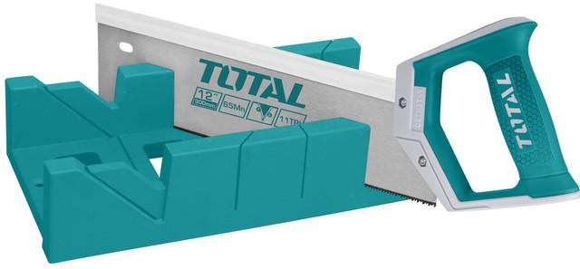 TOTAL MITRE BOX AND BACK SAW SET (THT59126)