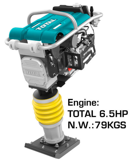 TOTAL GASOLINE TAMPING RAMMER 6.5HP (TP880-2)