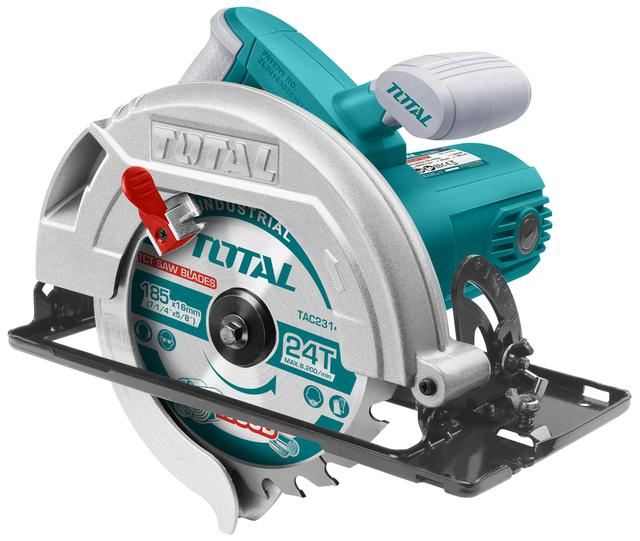 TOTAL CIRCULAR SAW 1.400W - 185mm (TS1141856)