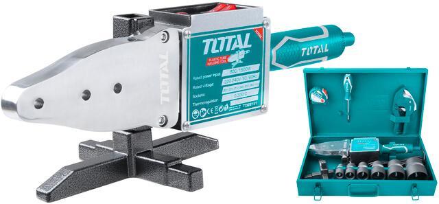 TOTAL PLASTIC TUBE WELDING TOOL 800 / 1.500W (TT328151)