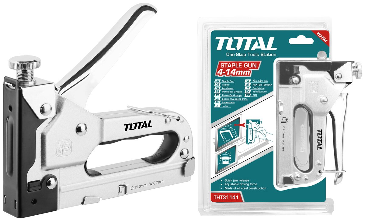 TOTAL STAPLE GUN 4 - 14mm (THT31141)