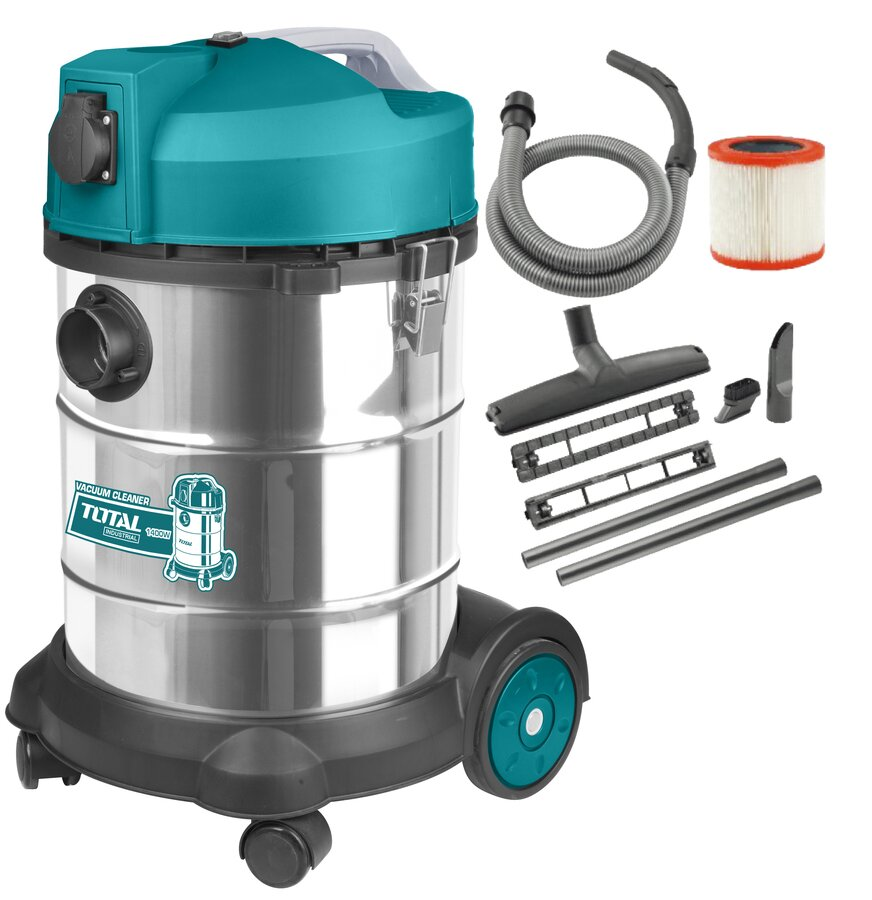 TOTAL VACUUM CLEANER WET - DRY 1.400W (TVC14301) on