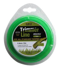 BAX TRIMMER LINE ROUND  2.4mm - 12m (1304-24012)