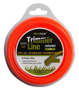 BAX TRIMMER LINE ROUND 2.7mm - 12m (1304-27012)