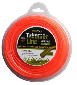 BAX TRIMMER LINE ROUND  2.7mm - 75m (1304-27075)