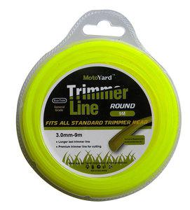 BAX TRIMMER LINE ROUND  3mm - 9m (1304-30009)