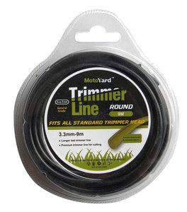 BAX TRIMMER LINE ROUND  3.3mm - 9m (1304-33009)