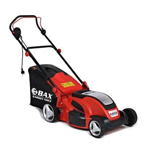 BAX ELECTRIC LAWN MOVER 1.800W 4 in 1 STEEL DECK (B-1800)