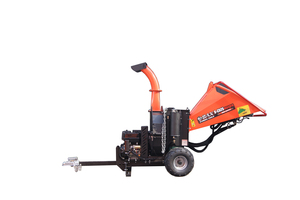 BAX HYDRAULIC FEEDING WOOD CHIPPER 420cc - 15hp (B-CS25maxpro)