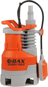 BAX SUBMERSIBLE PUMP DIRTY WATER WITH ADJUSTABLE FLOATER SWITCH 750W (B121-750)