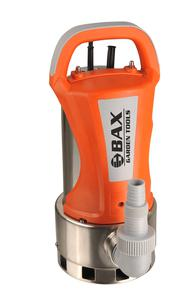 BAX SUBMERSIBLE PUMP DIRTY WATER INOX WITH ELECTRONIC FLOATER SWITCH 1.100W (B68A-1100)