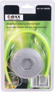 BAX TRIMMER HEAD UNIVERSAL FIX LINE 4 EXITS ALUMINIUM (B69382)