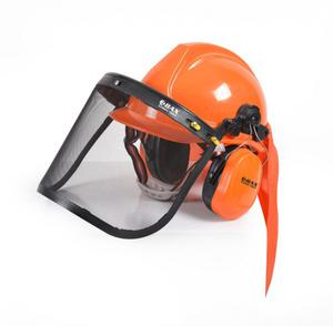 BAX SAFETY HELMET WITH FACE SHIELD AND EAR PROTECTION (FA0078)
