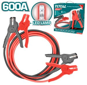 TOTAL BOOSTER CABLE 3m WITH LED LAMP (PBCA16008L)