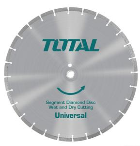TOTAL DIAMOND DISC FOR ASPHALT CUTTING LASER Φ - 405 X 25.4mm (TAC2164051)