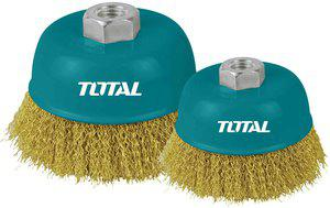 TOTAL WIRE CUP BRUSHES 125mm (TAC31051)