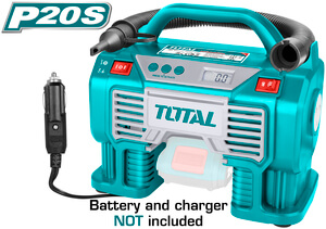 TOTAL AUTO AIR COMPRESSOR Li - ion 20V (TACLI2002)