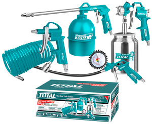 TOTAL AIR TOOLS SET 5 PCS (TATK051)