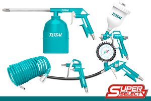 TOTAL AIR TOOLS SET 5 PCS (TATK053)
