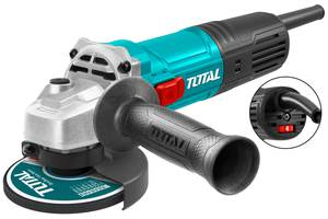 TOTAL ANGLE GRINDER 850W - 125mm WITH ADJUSTABLE SPEED (TG108125363)