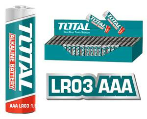 TOTAL ΑΛΚΑΛΙΚΕΣ ΜΠΑΤΑΡΙΕΣ 1.5V LR03 AAA 4ΤΕΜ (THAB3A01)