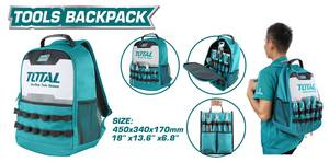TOTAL TOOLS BACKPACK (THBP0201)