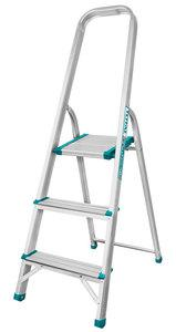 TOTAL ALUMINIUM LADDER 3 STEPS (THLAD06031)