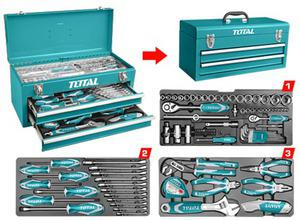 TOTAL 97 PCS TOOL CHEST SET (THPTCS70971)