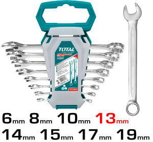 TOTAL COMBINATION SPANNER SET 8PCS (THT102286-I)