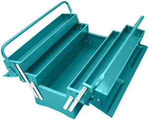 TOTAL METAL TOOL BOX 3 LAYERS (THT10701)