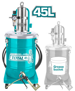 TOTAL PROFESSIONAL AIR GREASE LUBRICATOR 45Lit (THT118452)