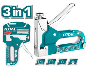 TOTAL STAPLE GUN 3 in 1 (THT31143)