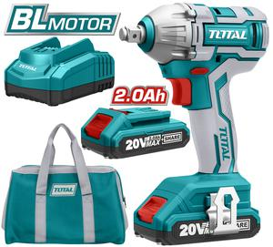 TOTAL IMPACT WRENCH Li - ion 20V / 2Ah / 300Nm (TIWLI2001)