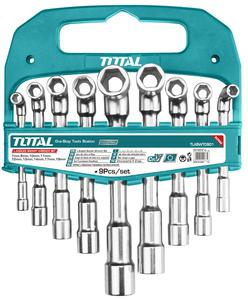 TOTAL L-ANGLED SOCKET WRENCH SET 9PCS (TLASWT0901)