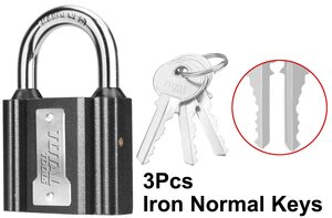 TOTAL IRON PADLOCK 75mm (TLK31751)