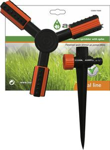 AQUABAX PLASTIC 3 ARM SPRINKLER WITH SPIKE (TS1011)