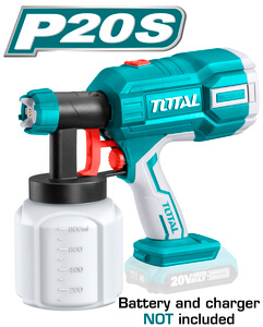 TOTAL SPRAY GUN Li - ion 20V (TSGLI2001)