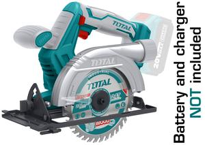 TOTAL CIRCULAR SAW Li - ion 20V (TSLI1501)
