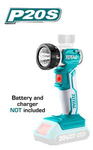 TOTAL WORK LAMP Li - ion 20V (TWLI2001)